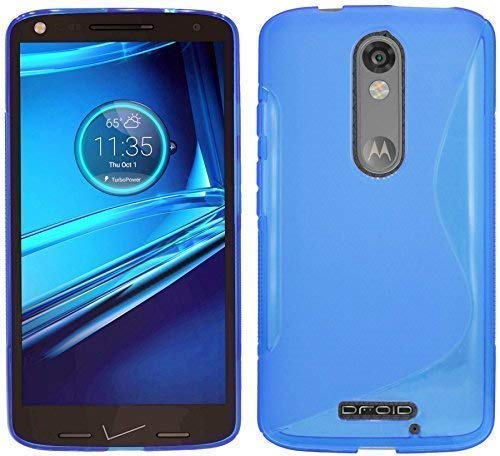 bester der welt ENERGMiX Silikonhülle für Motorola Moto XForce Blue Gel Schutzhülle 2021