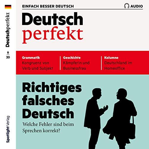Deutsch perfekt Audio 6/2020 Titelbild