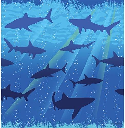 Shark 55% OFF Splash Tablecover Plastic Sale special price 54