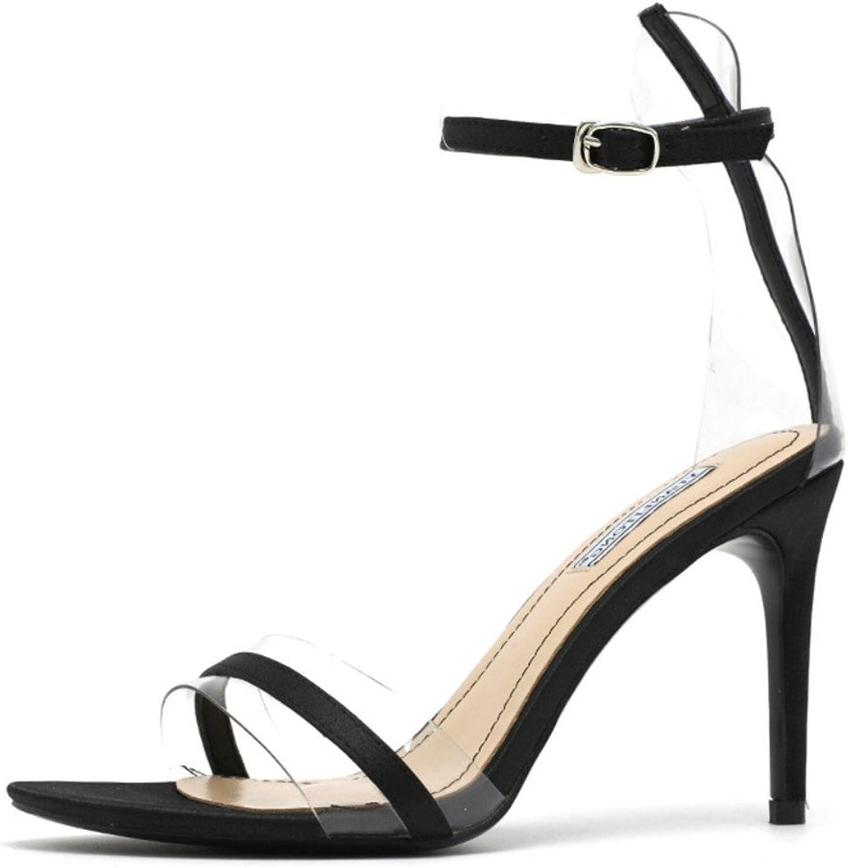 Sexy High Heels Sandals Womens High Heels Classic Court shoes Stiletto Heel Summer Black Red Women Ladies Bride shoes,Black,EU39