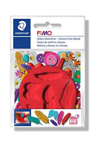Staedtler 8725 21 - FIMO Motiv-Form Federn Schreibwaren