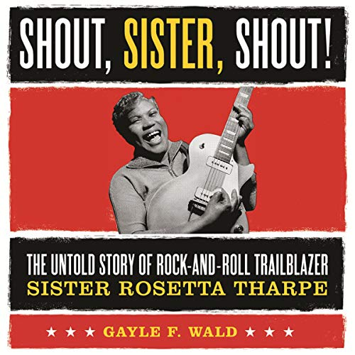 Shout, Sister, Shout! audiobook cover art