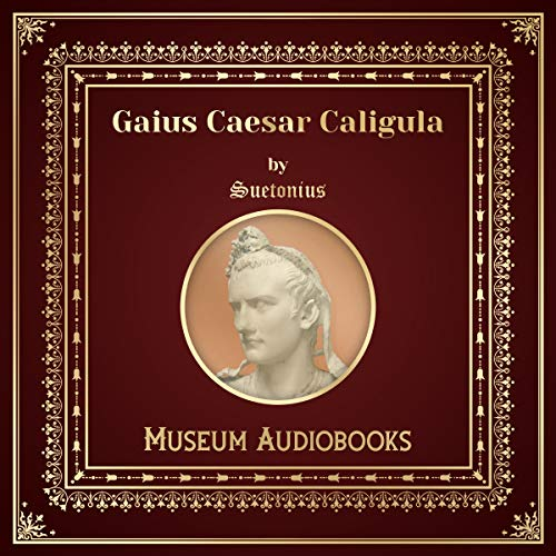 Gaius Caesar Caligula audiobook cover art