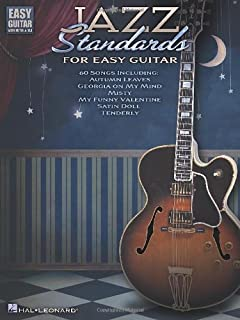 Jazz Standards for Easy Guitar: Includes Tab (Easy Guitar with Notes & Tab)