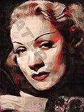 Posters-Galore Marlene Dietrich German American 30S Art