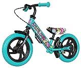 Small Rider Deluxe EVA, Bicicleta de Equilibrio de 12 Pulgadas, Liviana, sin Pedales, el sillín y el Manillar Son Ajustables en Altura, Regalo de cumpleaños para niños y niñas a Partir de 3+