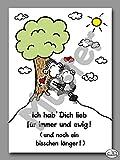 sheepworld Postkarte 'Ich hab Dich lieb für immer und ewig!' Nr. 63