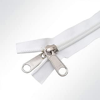 4 inches halbautomatisch Hochwertige YKK Messing-Jeans Rei/ßverschl/üsse Kordel Jeans 4//5//6//7//8 Zoll 10cm Schieberhose beige