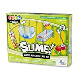 hand2mind Slime Science Kit for Kids 8-12, Kids Science Kit with Fact-Filled Guide, DIY Slime Worms and Slime Bouncing Balls, STEM Toys, 17 Science Experiments
