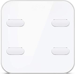 Báscula De Baño WiFi Bluetooth Cuerpo Peso De Grasa MI Balanzas Suelo Smart Pesaje Humano Escala De La Frecuencia Cardíaca Detección