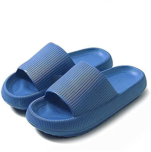GYYlucky Gimnasio Zapatillas de Interior y Zapatillas de Interior para Mujeres Hombres Sandalias de Ducha de baño de Secado rápido Piscina de Masaje Suave, Gruesa y Antideslizante