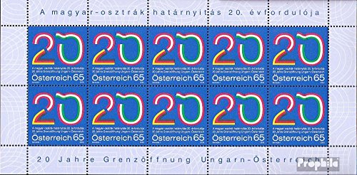 Prophila Collection Österreich 2823 Kleinbogen (kompl.Ausg.) 2009 Grenzöffnung durch Ungarn (Briefmarken für Sammler)