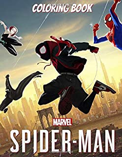 Marvel Spider - Man Coloring Book: Exclusive Coloring Book for Kids, Activity Book, Great Starter Book for Children (Coloring Book for Kids Ages 3 - 7)