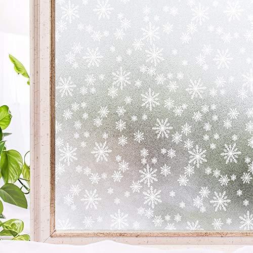 LMKJ Película de decoración del hogar película de PVC para Ventana decoración sin Pegamento 3D decoración estática Ventana vitral Pegatina Z8 60x100cm