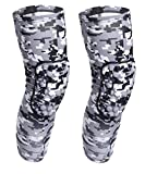 Best Wrestling Knee Pads - COOLOMG Basketball Knee Pads Protective Long Leg Sleeves Review