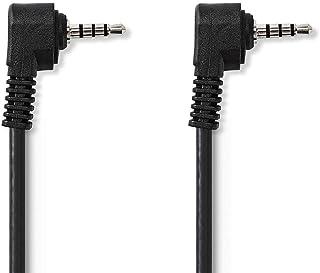 Nedis CVGP22000BK20 3.5 mm AV Cable | 3.5 mm AV Male - 3.5 mm AV Male | 2.0 m | Black