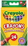 Crayola Washable Crayons, Pack of 24
