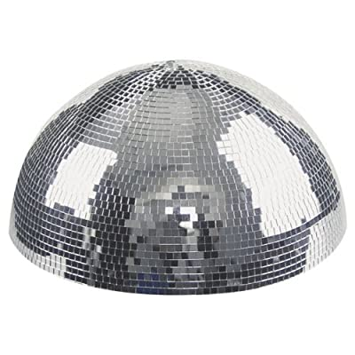 Showtec Half Mirrorball 30 Centimeter Mirror Ball Revolving DJ Disco Decor