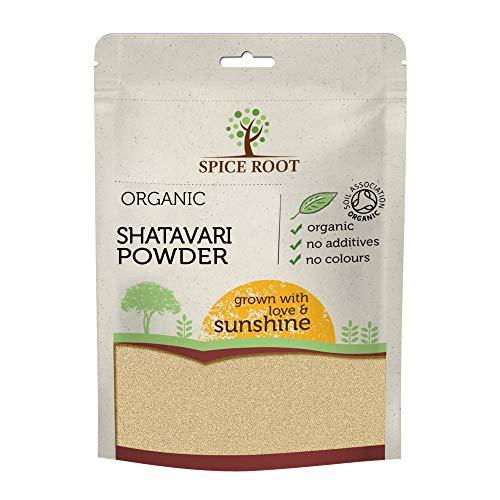 Bio Shatavari Pulver 200g (Asparagus racemosus) - Zertifizierte Bio, Premium Qualität | Ayurveda | Vegan