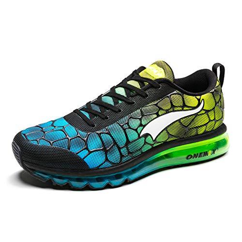 ONEMIX Laufschuhe Herren Leichte Sportschuhe Fitness straßenlaufschuhe Sneaker Gym Turnschuhe Freizeitschuhe Trainer Shoes 1096 41