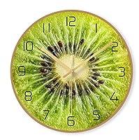 CLJ-LJ ク製壁掛 ルームスモール新鮮な北欧スタイルダイニングかわいいフルーツ漫画壁掛け時計子供部屋教室幼稚園時計レストラン