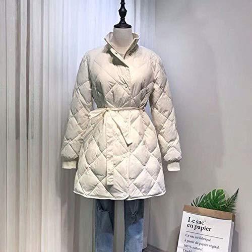 WFSDKN donsjack voor dames, ultralicht, 90% eend, wit