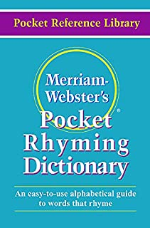 Pocket Rhyming Dictionary
