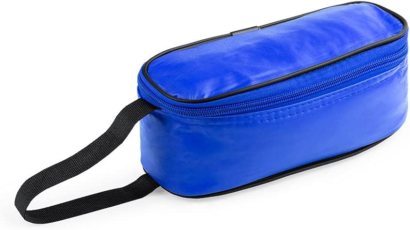 Los Eventos de la Tata. Porta Bocadillos - Portabocadillos infantil reutilizable - fiambrera infantil (Azul)