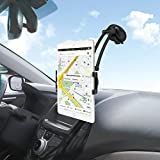 Car Tablet Mount Holder, ieGeek Magnetic Suction Cup Dash Windshield Dashboard Mount 360