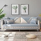 Multifunción Funda de sofá, Terciopelo Fundas para Sofa,Funda Sofa Ajustables Forma L,Protector DE Cubierta DE Muebles Sofa Sofa Sofa Sofa DE SILVERSEAT (Vendido por Pieza/NO Todo Set)-90 * 180 cm_