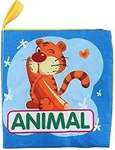 كتب قماشية ناعمة للأطفال حديثي الولادة، سنة واحدة والأطفال الصغار، لعبة تعليمية للأولاد والبنات، لمسة وشعور للنشاط، قماش قابل للغسل