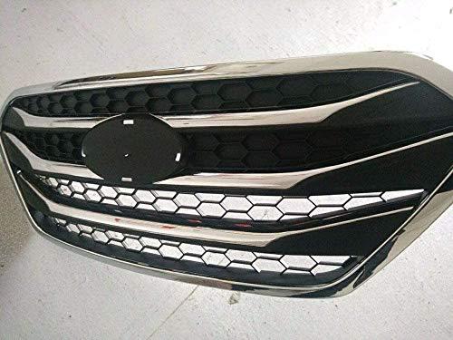 WJHNB Auto Styling Original Kühler Chrom Fronthaube Kühlergrill Racing Grills Für Hyundai ix35 2009-2015