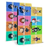 Japan Cartoon Anime My Hero Academia iPad Case Auto Wake/Sleep, Suitable for iPad mini4/5 7.9'', iPad air1/2 9.7