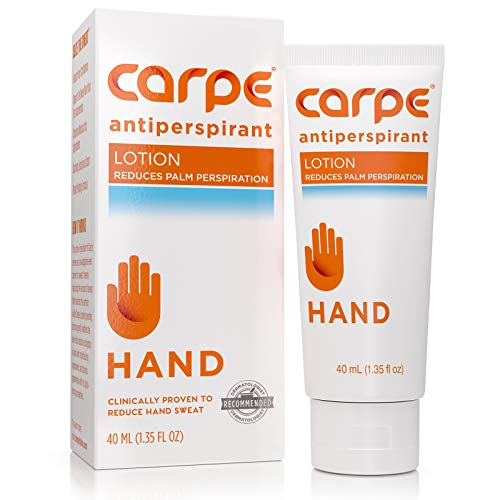 Carpe Antiperspirant Hand Lotion