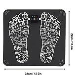 Masaje de pies, Masaje voluntario Circulación de pies Contracción Ejercicios de relajación con niveles de ABS + PU Fuerza (rosa, negro)