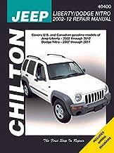 2002-2012 Jeep Liberty & 2007-2011 Dodge Nitro Repair Manual by Chilton