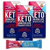 Real Ketones Prime D- Exogenous Keto D BHB + MCT + Electrolytes- Drink Mix Supplement Powder, 30 Packets- Orange Blast from Real Ketones