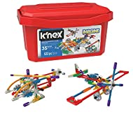 K'NEX 18025 Imagine 35 Model Click and Construct Value Building Set with Storage Tub, Educational To...