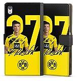 Etui Compatible avec Sony Xperia Z5 Premium Etui Folio Etui magnetique Borussia Dortmund BVB...