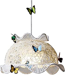 XAJGW Fun Children's Bedroom/Baby Nursery Butterfly Fairy Ceiling Cot Mobile Lamp Pendant Light Shade