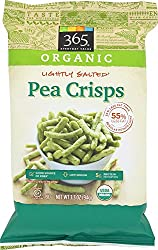 365 Everyday Value, Organic Pea Crisps, Lightly Salted, 3.3 oz