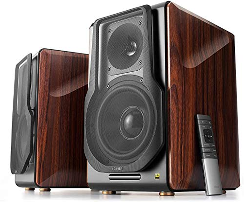 Edifier S3000Pro Audiophile Active Speakers - Truly Wireless, Bluetooth 5.0 aptX Wireless, USB Audio, Planar Diaphragm Tweeters and 6.5' Woofers