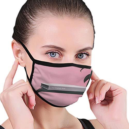 Dataqe The Unsplash boek op bruin houten kubus tafel gezicht maskers doek masker voor stofbescherming katoen wasbaar herbruikbaar voor mannen en vrouwen universeel