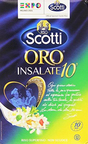 Riso Scotti Riso Oro Insalate 10', Parboiled per Insalate, 1kg