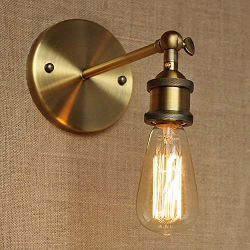Lampe rétro en fer forgé vintage, A.