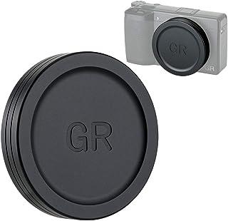 JJC 金属 レンズキャップ Ricoh GR Mark III II GRIII GRII GR3 GR2 専用 レンズ保護 防塵 アルミニウム合金製