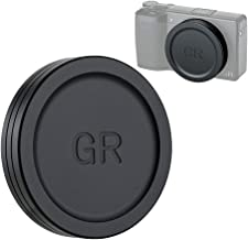 Aluminium Alloy Lens Cover Cap for Ricoh GR III GRIII GR II GRII, Anti-dust Lightweight Durable Camera Lens Protection Cover for GR2 GR3 with Soft EVA Interior
