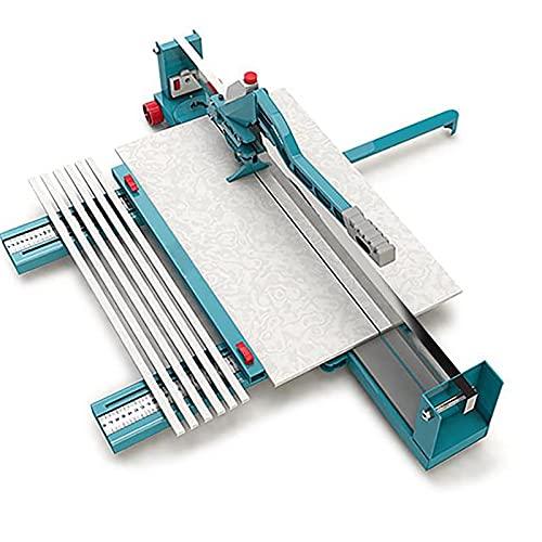 Cortador de Azulejos Manual 1200 mm Cortadora de Azulejos Profesional Cortador de Azulejos de Cerámica con Guía Láser Ajustable para Corte de Precisión