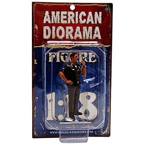American Diorama Wholesale Police Officer Jake Figure For 1:18 Scale Models
