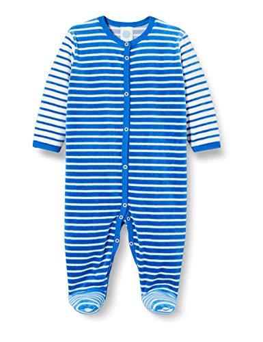 Sanetta Baby-Jungen Overall Blue Kleinkind-Schlafanzüge, blau, 50